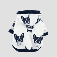 Custom Dog Coats Cotton Bulldog Pet Hoodies 06-1189 Dog Clothes: Shirts, Sweaters & Jackets Apparel 06-1189