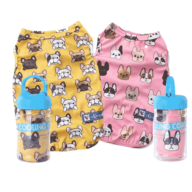 Dog T-Shirt Clothes:Small Clothes Custom Dog Coats Cotton Bulldog 06-1192 Dog Clothes: Shirts, Sweaters & Jackets Apparel