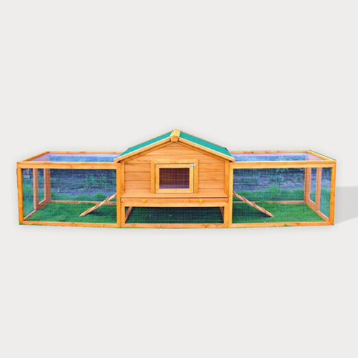 Wooden rabbit cage pet house