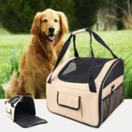Comfy 600D Oxford Outdoor Dog Carrier Bag Pet Car Travel Bag for Carr for Car