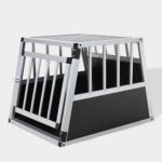 Single Door Aluminum Dog cage 75a 54cm 06-0765 Single Door Aluminum Dog cage 75a 54cm 06-0765