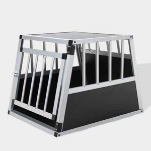 Single Door Aluminum Dog cage 75a 54cm