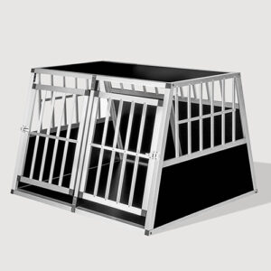 Large Double Door Dog cage With Separate board 65a 104