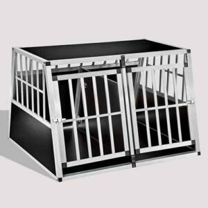 Large Double Door Dog cage 75a 104