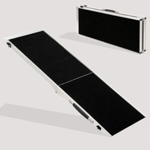 Pet Ramp Pet Telescoping Steps & Dog Stairs For Car 122x 38x 5cm
