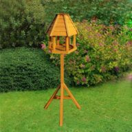 Fir bird feeder