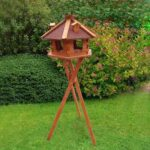 Rainproof fir Bird feeder Roof Dia 57cm bird house height 36cm 06-0978