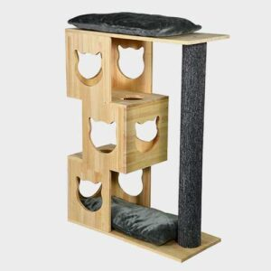 Pet Cat Furniture, cat tree natur wood 06-0190