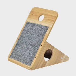 Pet Cat Furniture, wood sisal cat tree 06-0193