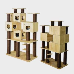 Pet Cat Furniture, Cat Tree House 06-0198