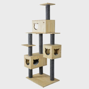 Pet Cat Furniture, decor wood larg cat tree