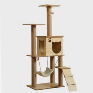 Pet Cat, Cat Jumping Platform Large Multi-layer Wooden Cat Toy Wholesale