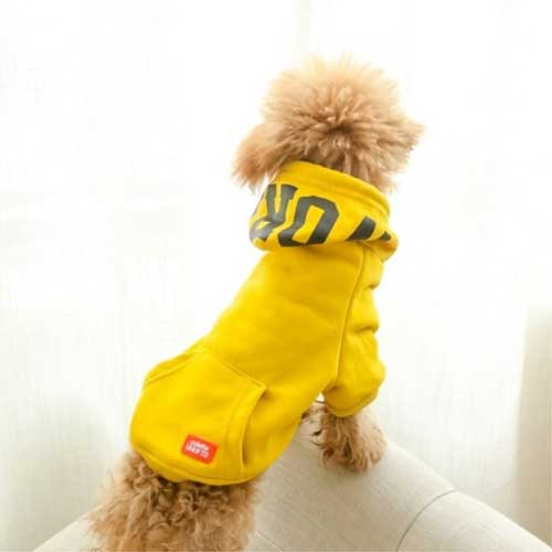 New Designer Style Leisure Dog Hoodie Printing Accessories Wholesale Luxury Sexy Pet Apparel Dog Clothes 06-0450