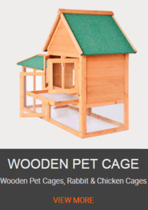 WOODEN PET CAGE
