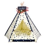 Dog Pet Tent: Pet Tent Best Selling Durable Washable Portable Stylish Canvas Bed 06-0938