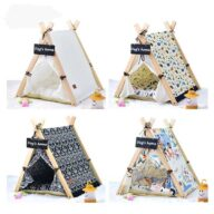 China Pet Tent: Pet House Tent Hot Sale Collapsible Portable Waterproof For Dog & Cat 06-0946 Pet Tents: Pet Teepee Bed House Folding Dog Cat Tents Dog Tent outdoor pet tent