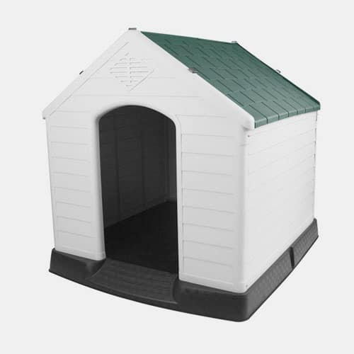 New Style China No skylight Dog House Plastic Kennel Modern Insulated Dog House Pet Dog House For Sale 06-1604 Dog House: Pet Products, Dog Goods 06-1604